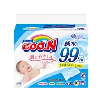 GOO.N Regular Baby Wipe Refill 210pcs (70x3)