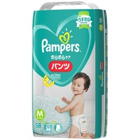 Pampers Pants Japan Version Size M 58PK (6-10KG)